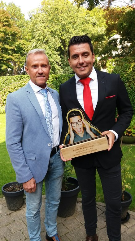 TiesandLaces kleedde de Nederlandse zanger Jan Smit